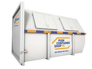Puincontainer 10m3 dicht