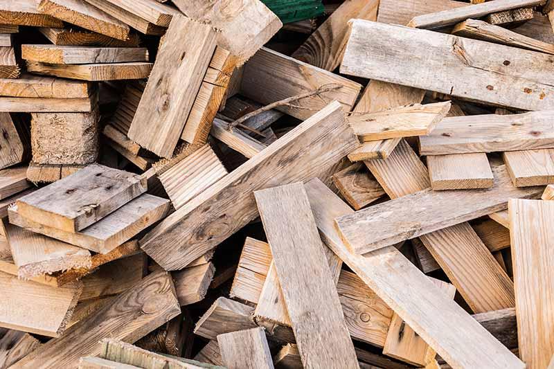 Soorten houtafval