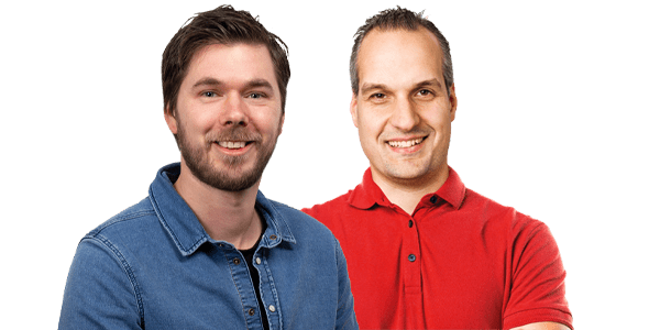Corwin en Niels Klantenservice