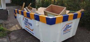 Welke maat afvalcontainer past bij mijn klus