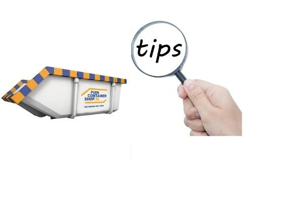 Tips Puincontainershop