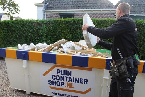 Puincontainer huren Utrecht