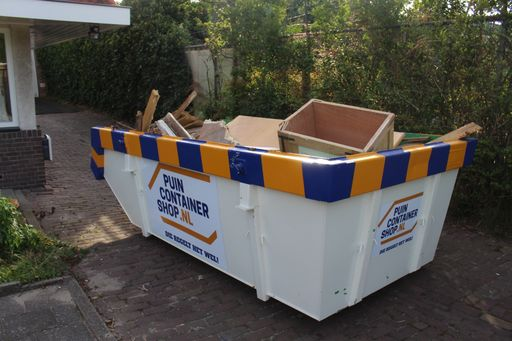 Houtafval container